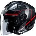 HJC open face helmets